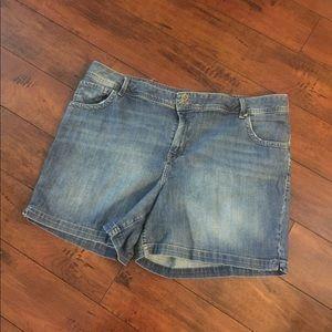 Lane Bryant plus size denim Jeans Shorts 22